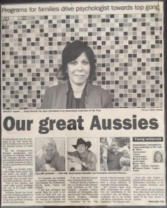 our great aussies paula barrett