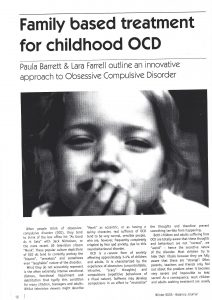 family based treatment childhood OCD