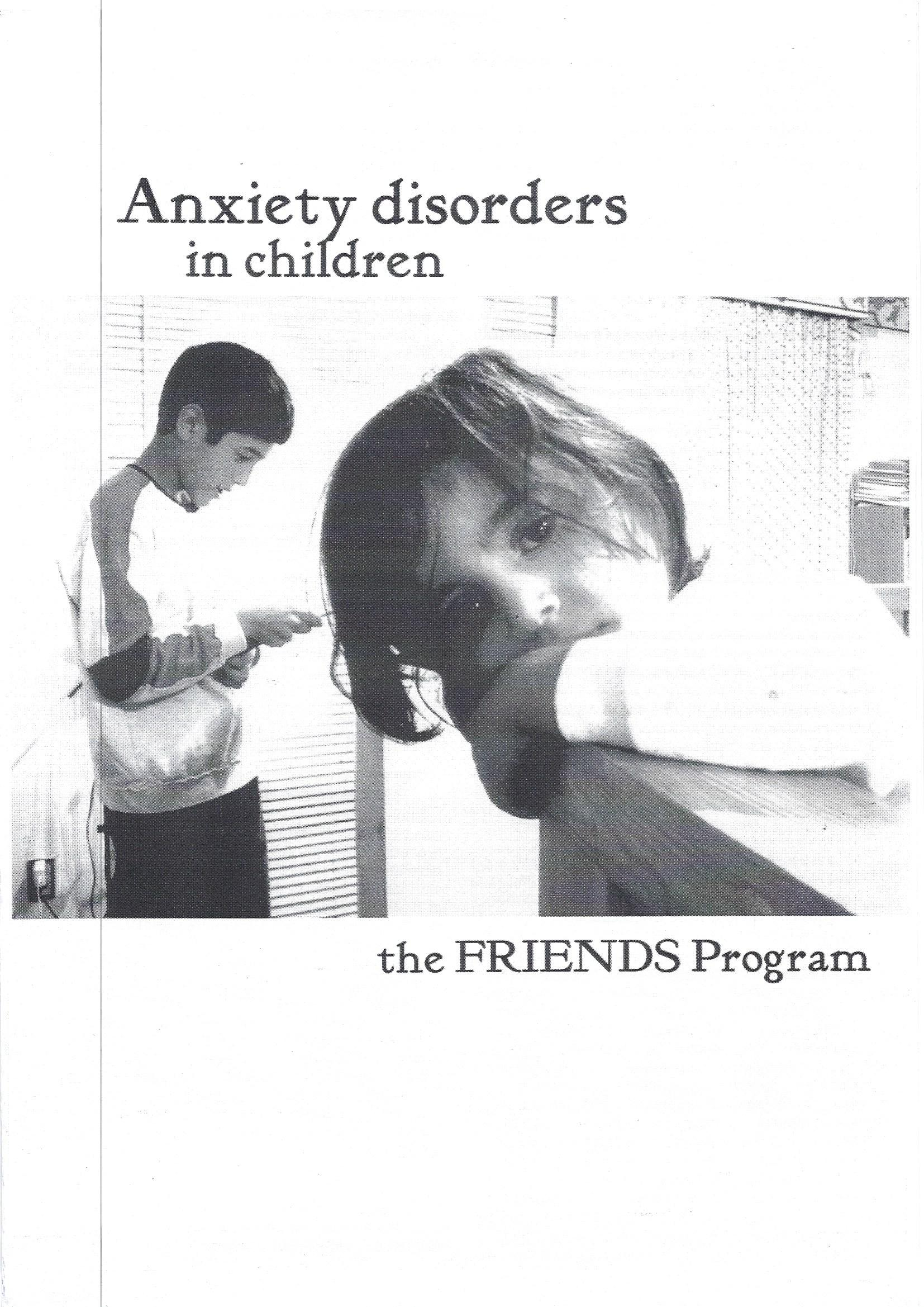 anxiety disorders children